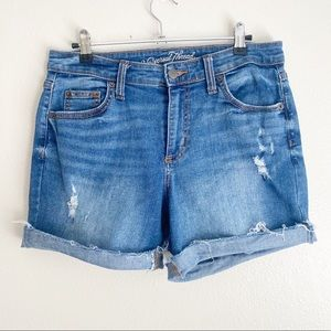 Universal Thread Blue Distressed Jean Shorts 8/29